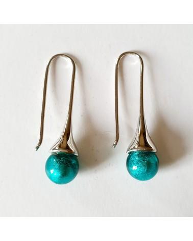 Boucles d'oreilles Campanella bleuebijoux des artisans italiens