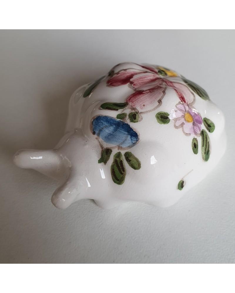 Mini Coccinelle en céramique de Lodi artisan italien objet décoration